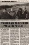 Italians aim to be firsta pasta the post at TT